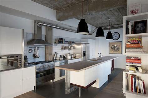 hotte de cuisine stainless 21 idées de cuisine pour votre loft