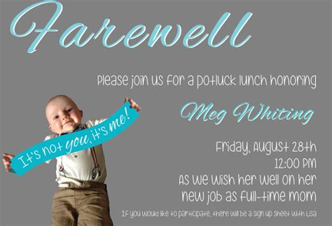 farewell invitation templates psd eps ai
