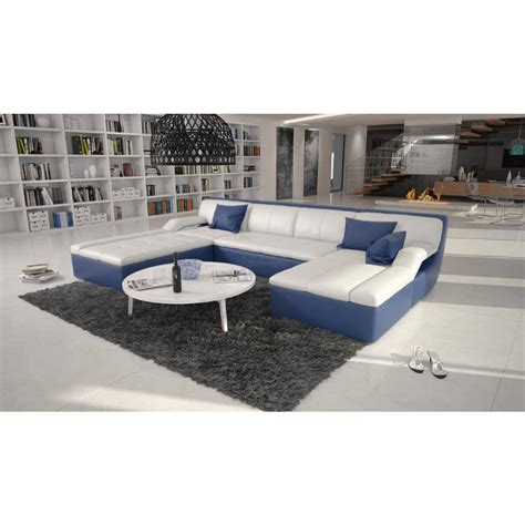 grand canap design grand canapé d 39 angle cuir design guevara 1 599 00