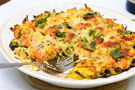 recipes with spaghetti squash 28 best spaghetti squash meals spaghetti squash lasagna with broccolini recipe eatingwell