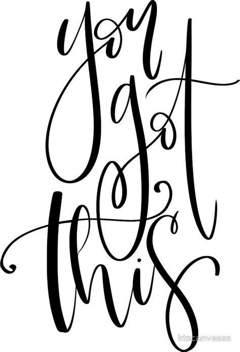 sticker favorite words calligraphy