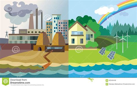 download free templates ecological icons tree after effects environmental pollution and environment protection stock