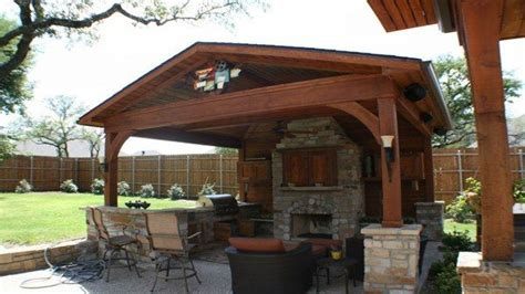 Simple Kitchens Designs, Outdoor Attached Covered Patio