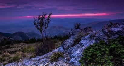 Sierra Nevada Spain Landscape Mountain Sunset Sky