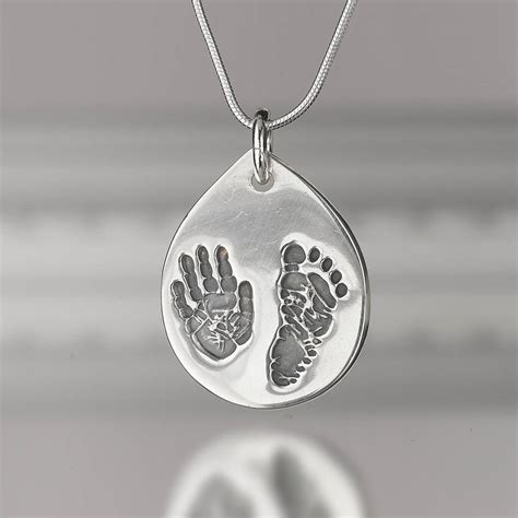 Personalised Hand And Footprint Necklace By Touch On. March Bracelet. Tiffany Diamond Pendant. Highschool Rings. Rfid Bracelet. Luxury Engagement Rings. 4 Carat Diamond Stud Earrings. Ipad Watches. Plain Gold Wedding Rings