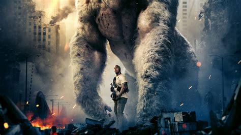Rampage 2018 Movie Wallpaper 4k Hd Background