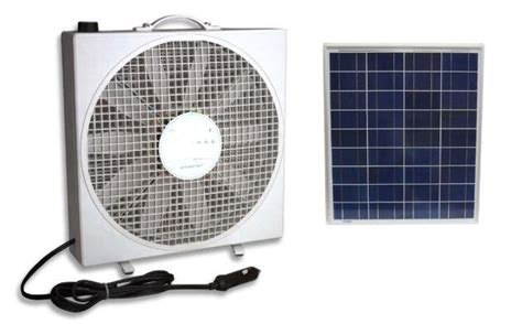 solar powered box fan solar powered portable fan windynation community