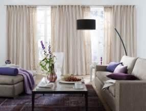 gardine wohnzimmer wohnzimmer gardine weiss lila stoffe für wohn t räume