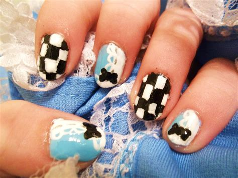 Alice In Wonderland Inspired Nail Art By Xxkawaii-pandaxx