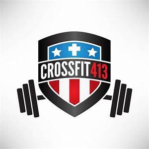 Crossfit413 :: Logo   Gym logo, Crossfit logo, Fitness logo