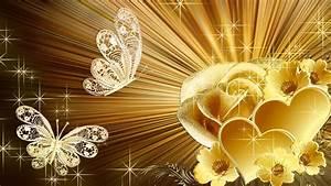 Golden Rose HD Desktop Background Wallpaper Free