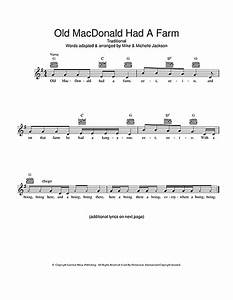 Old Macdonald Had A Farm Australian Version Chords By