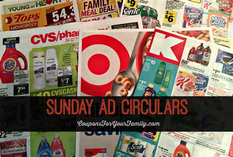 weekly ad preview stores sunday circular sales