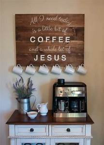 best 25 coffee area ideas on pinterest coffee nook With kitchen decals for walls ideas you can apply at home