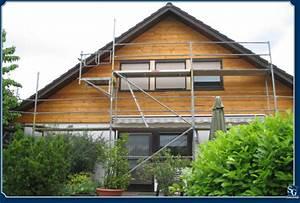 Fassade Mit Holz Verkleiden : sg hausoptimierung fassade verschiefern ~ Lizthompson.info Haus und Dekorationen