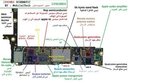 iphone   schematic diagram  working jumper