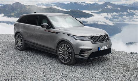 Review Land Rover Range Rover Velar by 2018 Range Rover Velar Review Caradvice