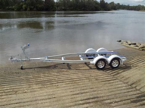 Tandem Aluminum Boat Trailer by Seatrail Aluminium 6 2m Boat Trailer Tandem Ausmarine