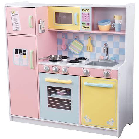 cucina grande  legno color pastello kidkraft biosolex