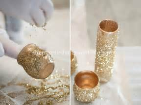 wedding and party deco ideas diy glitter glam centerpieces the sharepoint