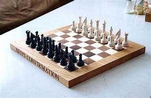 Personalised Wooden Chess Boards