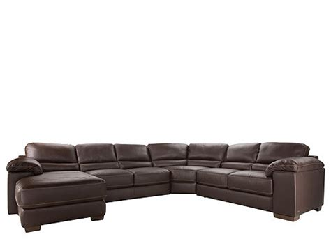 cindy crawford sectional sofa cindy crawford maglie 4 pc leather sectional sofa