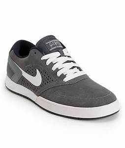 Nike SB P-Rod 6 LR Dark Grey, White & Dark Obsidian Skate ...