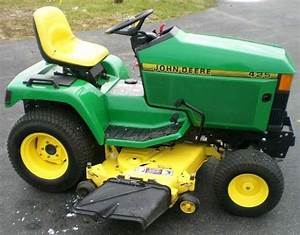 John Deere 425  445  And 455 Lawn And Garden Tractors Technical Servic  U2013 The Best Manuals Online