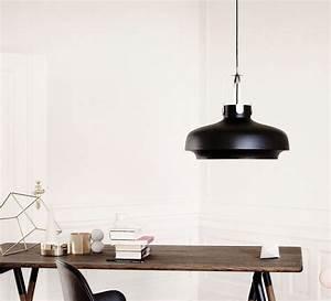 Luminaire Style Scandinave : suspension copenhagen pendant sc8 noir mat 60cm h53cm andtradition lampe luminaire le ~ Teatrodelosmanantiales.com Idées de Décoration