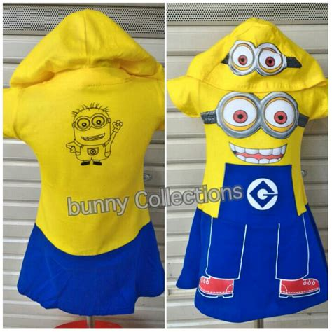 jual baju anak karakter minion stelan minion bunny