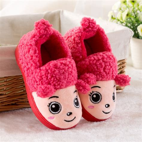 House Slippers Baby by Winter Children Slippers Boys House Cotton Sheep