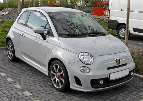 Fiat 500 Abarth Wiki by File Fiat 500 Abarth 20090801 Front Jpg Wikimedia Commons