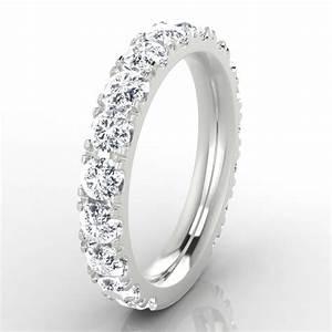 mariee alliance diamant en or blanc With alliance or blanc