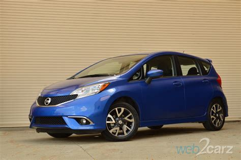 2015 Nissan Versa Note Sr Review