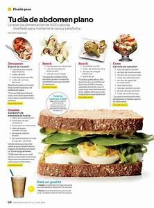 Para un abdomen plano Comida saludable Pinterest Abdomen plano, Food and Detox