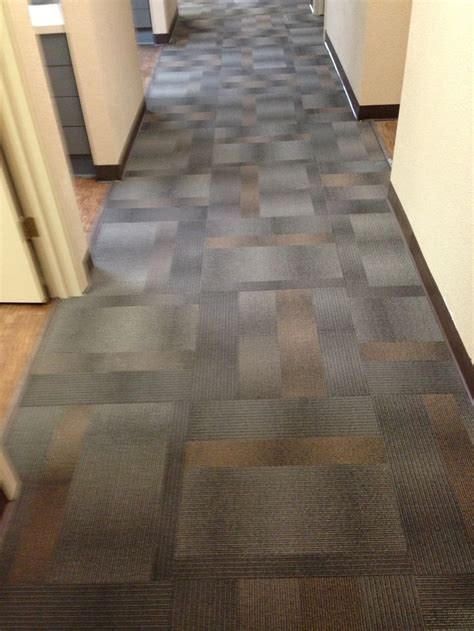 SHAW Eco Works Sustainable Recyclable carpet tiles.   2013