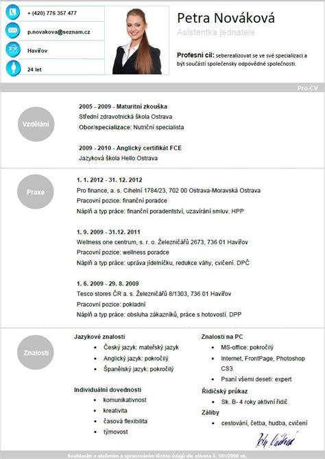 Pro Cv by Pin Uživatele Pro Cv Na N 225 Stěnce Vzory Pro Cv životopisů