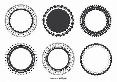 Label Blank Shape Vector Shapes Labels Templates
