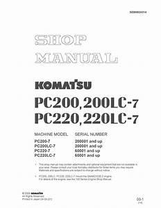 Wiring Diagram Komatsu Pc200 7