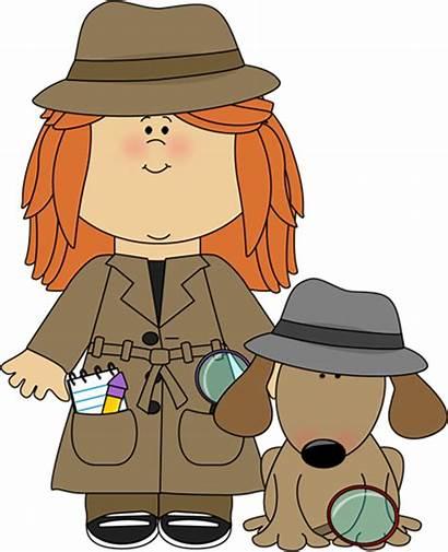 Detective Dog Clipart Kid Clip Graphics Hat