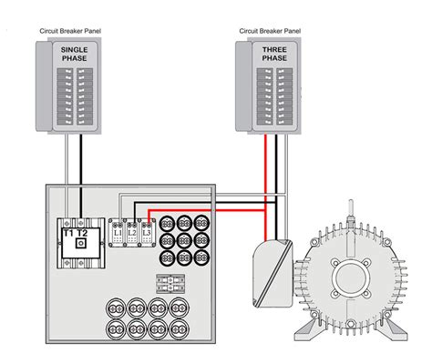 wiring diagram rotary phase converter wiring diagram diy