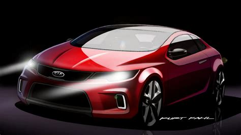 kia koup concept news  information research