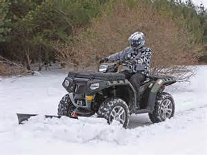 Polaris ATV Snow Plow
