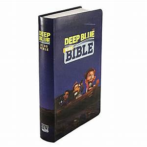 Ceb Common English Bible Deep Blue Kids Bible Imageflex Cover  Diving Deep Into God U0026 39 S Word By
