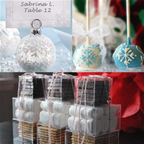 more winter wedding favors ideas for guests wedding
