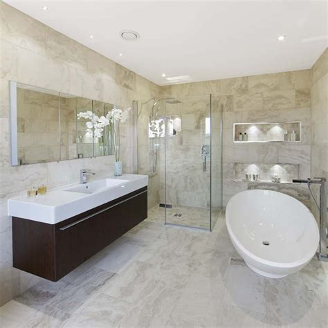 stunning master bathrooms  glass walk  showers