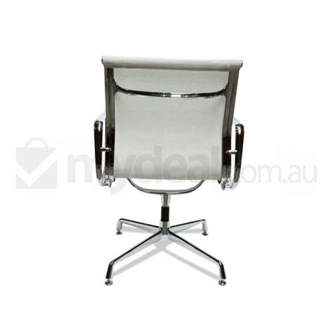 white mesh visitor office chair eames replica buy