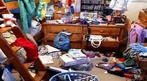 Untidy bedroom (photos and video) WylielauderHouse com