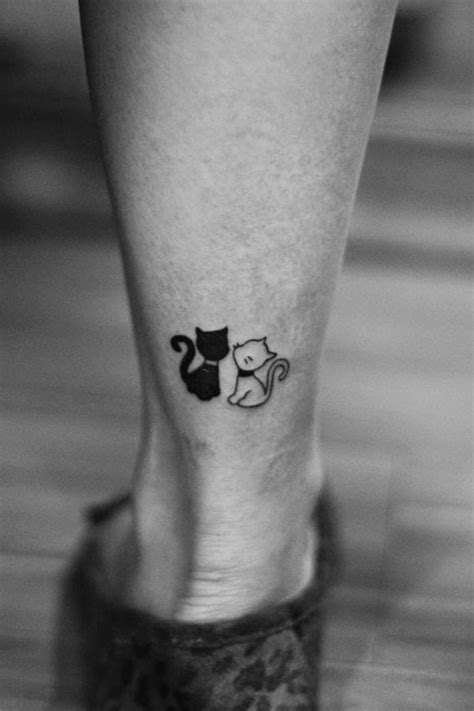 25+ Best Ideas About Small Cat Tattoos On Pinterest Cat