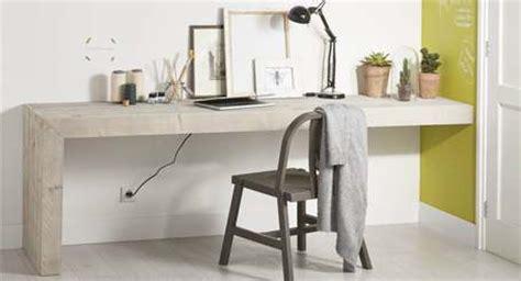 montage de bureau steigerhout bureau met montage aan de muur knutsel